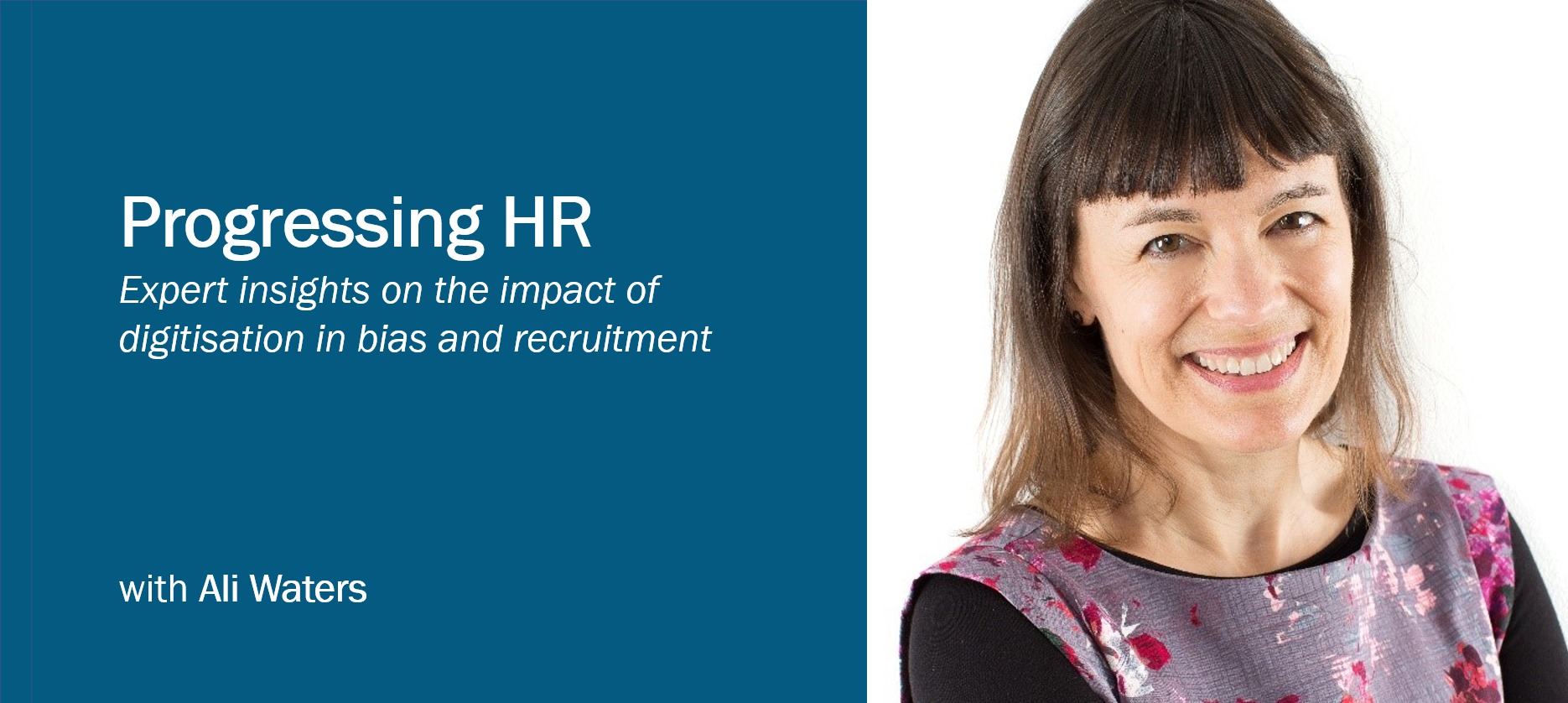 Progressing HR with Ali Waters